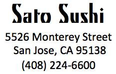 Sato Sushi Logo