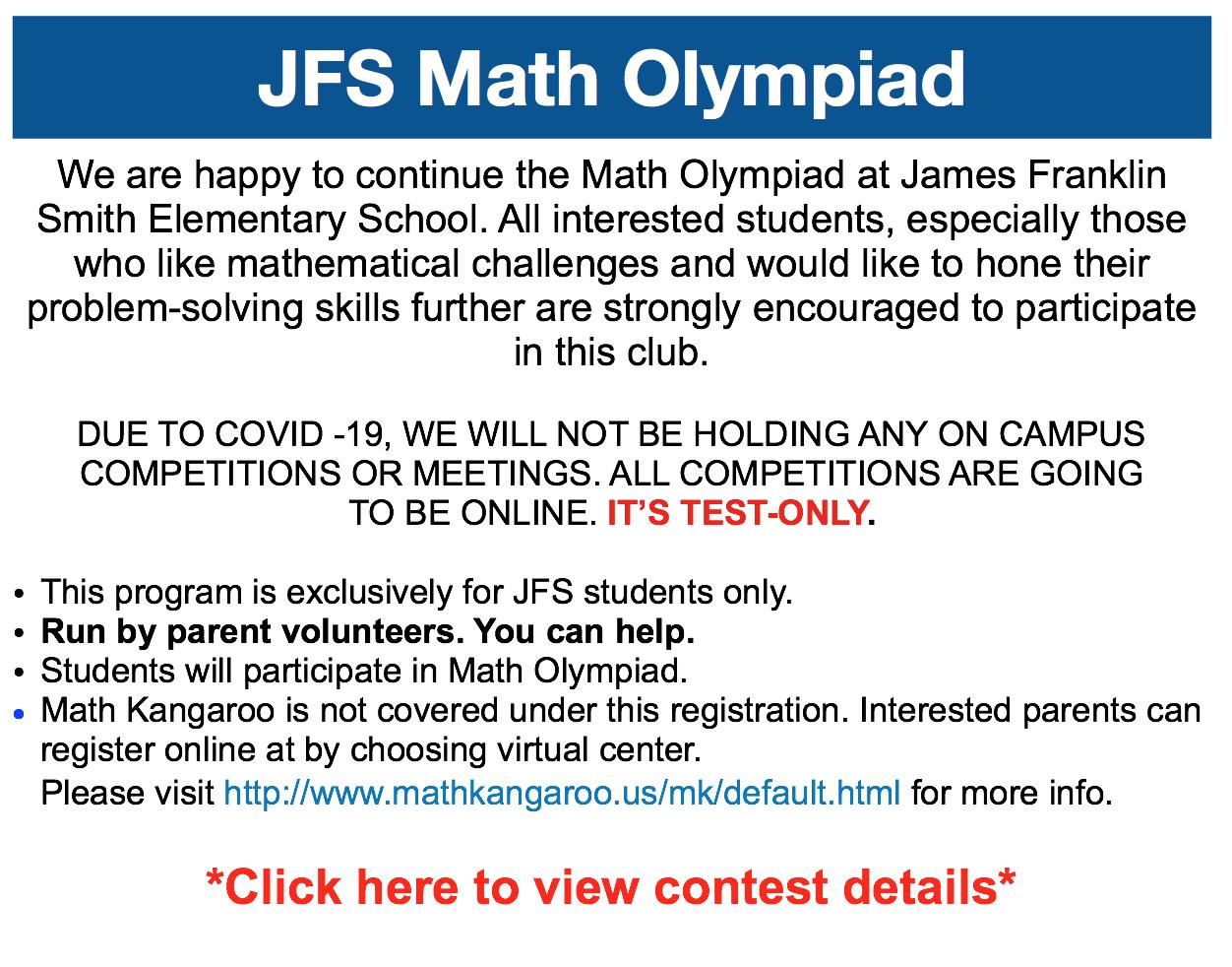 JFS Olympiad